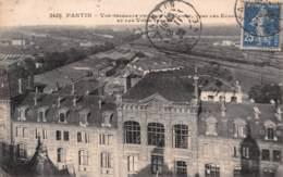 PANTIN LES ECOLES ET LES VOIES FERREES  19-0557 - Pantin