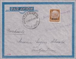 Elsass: Brief Von Wintzenheim 1940 - Ocupación 1938 – 45