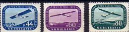 1956  AIRPLANS  3v.-MNH Yvert P.A. 70/72 - MNH**BULGARIA  / Bulgarie - 1945-59 République Populaire