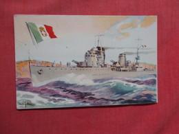 Advertising Chocolate La Estrella- Marina De Guerra Italia  As Is Crease   Ref 3751 - Pubblicitari