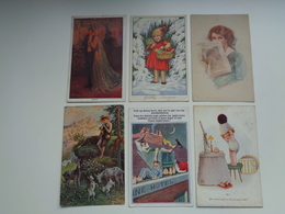 Beau Lot De 20 Cartes Postales De Fantaisie  Illustrateurs  Illustrateur  Mooi Lot 20 Postkaarten Van Fantasie  20 Scans - Postkaarten