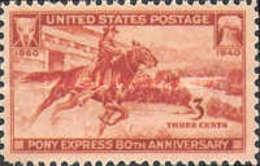 United-States - Pony Express  - 1940 - Usati