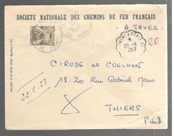 25415 - Sans TP Cad Ambulant - Poststempel (Briefe)