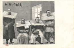 CHINE  Prisonniers  RV - Chine