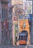 Carte  Maximum  1er Jour   FRANCE   Capitale   Européenne  :  Le  Quartier  Du  Bairre  Alto     LISBONNE   2009 - Maximumkarten