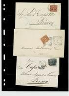 ITALIA REGNO ,anni Diversi ,10 Tra Lettere E Buste ,ottima Qualita - Italien