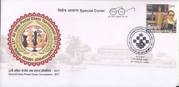 India  2017  - 32nd All India Postal Chess Tornament  Raipur  Special Cover  #  23794  D  Inde Indien - Chess