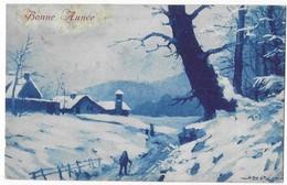 Illustrateur Bertiglia Paysage De Neige F.G. N° 5726 - Bertiglia, A.