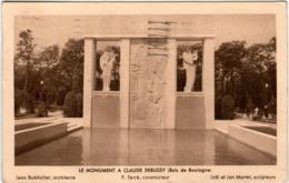 4OST 845 CPA - LE MONUMENT A CLAUDE DEBUSSY BOIS DE BOULOGNE - Non Classés