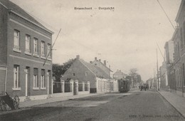 BRASSCHAAT / BRASSCHAET - DORPZICHT - TRAM / Voyagée 1913 / PHOTO F. HOELEN - CAPPELLEN - Brasschaat