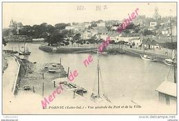 44. PORNIC . Vue Générale Du Port Et De La Ville . - Pornic