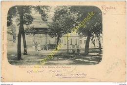 03. MOULINS . Le Kiosque De La Musique Et La Préfecture . - Moulins