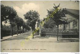 Ile SAINT DENIS . La Rue Du Saule Fleuri . - Saint Denis