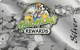 Mad Matty's Bar & Grill - Las Vegas, NV - BLANK Slot Card - Casino Cards