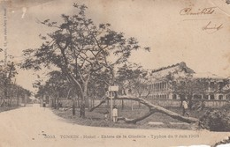 HANOI - TONKIN /  Entrée Dela Citadelle - 1903  _ Viaggiata - Vietnam