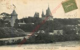 44.  PORNIC .  Vue D'ensemble Des Tours Du Château . - Pornic