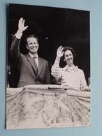 Koning BOUDEWIJN & Koningin FABIOLA ( België Koningshuis ) > Zie / Voir Photo ( Formaat PK / CP ) ! - Beroemde Personen