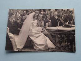 Huwelijk Koning BOUDEWIJN & Koningin FABIOLA ( België Koningshuis ) > Zie / Voir Photo ( Formaat PK / CP Klein ) ! - Beroemde Personen