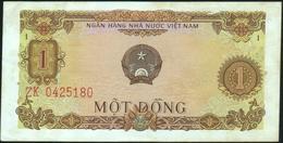 VIETNAM Viet Nam - 1 Dong 1976 {Ngan Hang Nhà Nu'oc Viet Nam} AU P.80 - Viêt-Nam