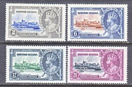 British Guiana  223-26   *  CORONATION - British Guiana (...-1966)