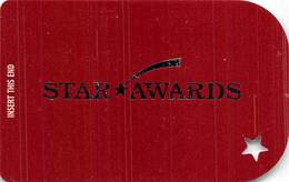Ameristar Casinos BLANK Slot Card Multiple Locations - White Reverse - Casino Cards