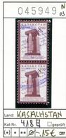 Kasachstan - Kazakhstan - Michel 418 Im Paar / Pair - Oo Oblit. Used Gebruikt - - Kasachstan