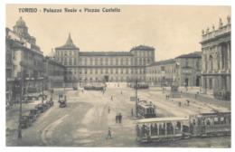 Italie. Torino, Palazzo Reale E Piazza Castello (10197) - Palazzo Reale