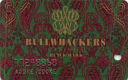 Bullwhackers Casino Black Hawk, CO Slot Card - PPC Over Mag Stripe - Casino Cards