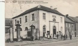 ST. JORIS-WINGHE - Het Gemeentehuis - WINGHE-ST-GEORGES - La Maison Communale / PREAUX GHLIN / Voyagée 1924 - Tielt-Winge