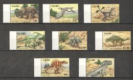D325 2006 NAURU PREHISTORIC ANIMALS DINOSAURS #638-45 1SET !!! MICHEL 15 EURO !!! MNH - Briefmarken