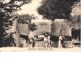 FR MARTINIQUE - Maisonnettes De Pêcheurs - Animée - Belle - Fort De France