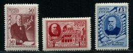 Russia 1941 Mi 801-803 MNH ** - 1923-1991 USSR