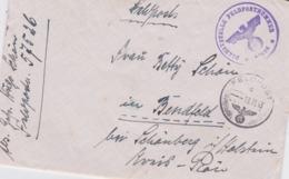 German Feldpost WW2: From Split, Croatia - Wehrmacht-Umschlagstab Splitt FP 57526 P/m   13.11.1943 - Letter - Militaria