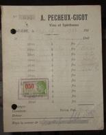 Hastière Vins Et Spiritueux Pecheux Gigot 1932 - 1900 – 1949