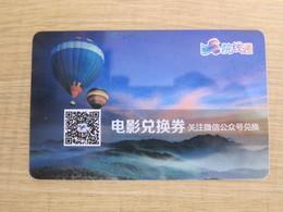 YXT Film Present Card, Hot Balloon - Telefonkarten