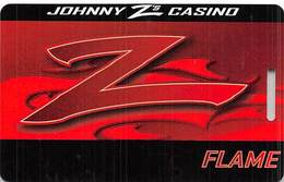 Johnny Z's Casino Central City CO - BLANK Flame Level Slot Card - Casino Cards