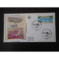 FDC Soie - 1re Liaison Postale Nancy Lunéville, Oblit 28/7/2012 Nancy - 2010-....