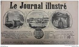 1868 BERGERAC - BIARRITZ VILLA IMPÉRIALE - SORTIE DE L'OPÉRA HAMLET - LES BAINS DE MER DEAUVILLE TROUVILLE - Journaux - Quotidiens