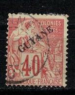 GUYANE     N°  YVERT   26   OBLITERE       ( Ob   5/58 ) - Usados