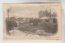 CPA PIONNIERE AUBIGNY SUR NERE (Cher) - Pont De La République - Aubigny Sur Nere