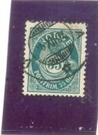 1877 NORVEGE Y & T N° 29 ( O ) 35 Ore - Norvège