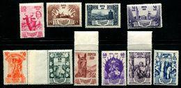 Russia 1939 Mi 699-708 MNH ** - 1923-1991 USSR