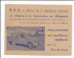 2 Cv Citroen Des PTT - Voitures De Tourisme