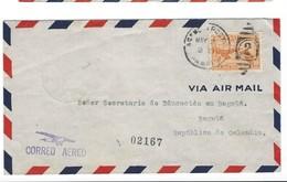COVER CORREO AERO  PANAMA - VIA AIR MAIL - BOGOTA - COLOMBIA - 1939. - Panama