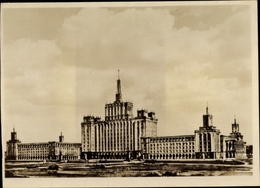 Cp București Bukarest Rumänien, Combinatul Poligrafic Casa Scanteii I V Stalin - Roumanie