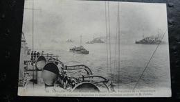 11 TOULON : Revue Navale 1911 Passée Par Le Président De La République - Toulon