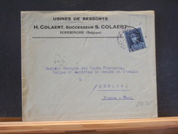 84/308 LETTRE  POPERINGE   1933 - 1922-1927 Houyoux