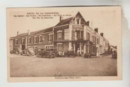 CPSM AUBIGNY SUR NERE (Cher) - Hôtel (Restaurant) DE LA CHAUMIERE - Aubigny Sur Nere