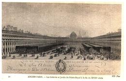 [75] Paris >  Palais Royal > Les Galeries Et Jardins   (Format 9 X 14) - Francia
