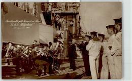 53125200 - SMS Helgoland Bordkapelle Norwegenreise 1914 - Warships